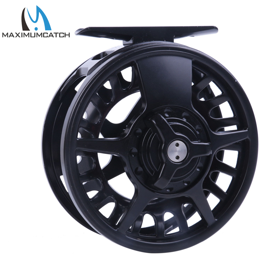 5 6 7 8 wt fly reel aluminum black right left handed fly for Left handed fishing reels