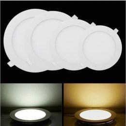 Dimmable LED Ceiling Panel Light Recessed LED Downlight 85-265V Brightness adjust LED Indoor Lighting lamp(China (Mainland))