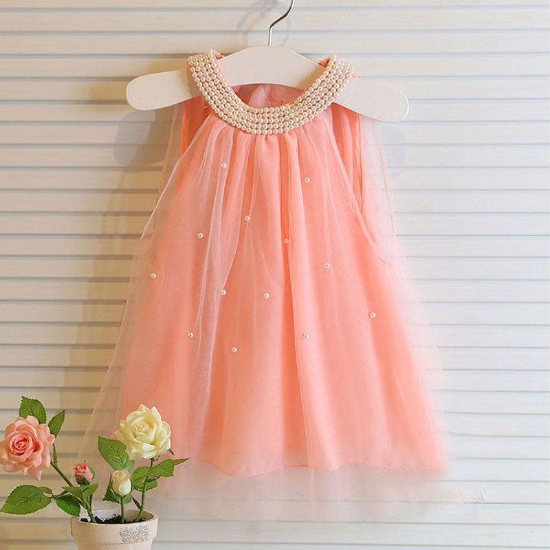 kids dresses for summer 2015 new princess brand elegant toddler baby girl clothes party dress sleeveless children girls clothing(China (Mainland))