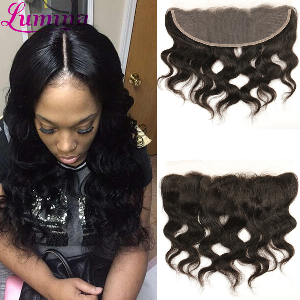 Amazing 7a Lace Frontal Closure 13x4 Lace Closure From Ear To Ear Malaysian Body Wave Frontal Closure With Free Shipping  <br><br>Aliexpress