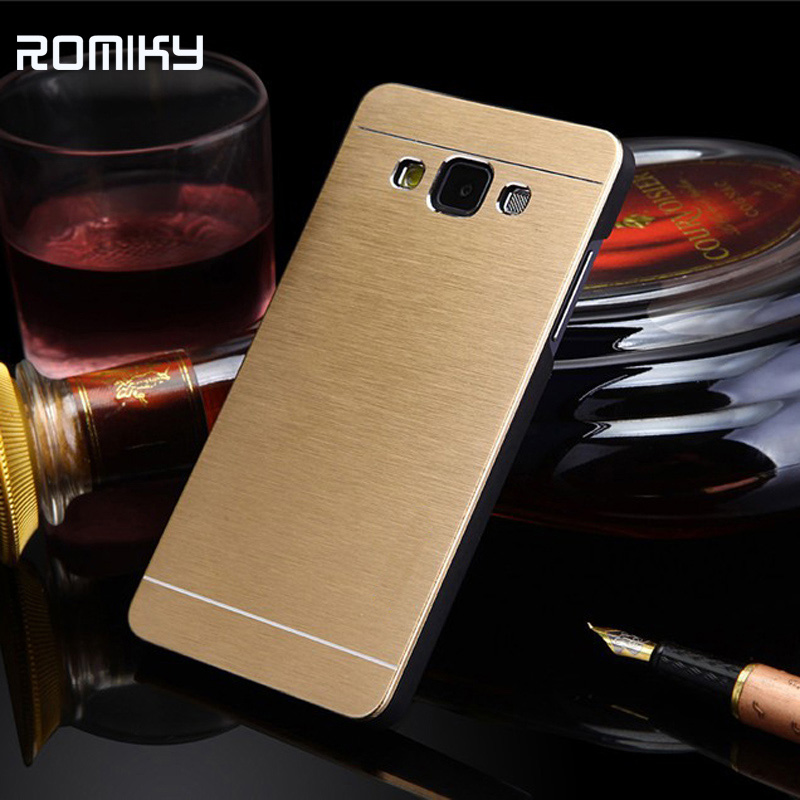 Hybrid aluminum brushed hard protect case for samsung galaxy J2 j200 samrt phone covers bags skin metal PC plastic cases(China (Mainland))