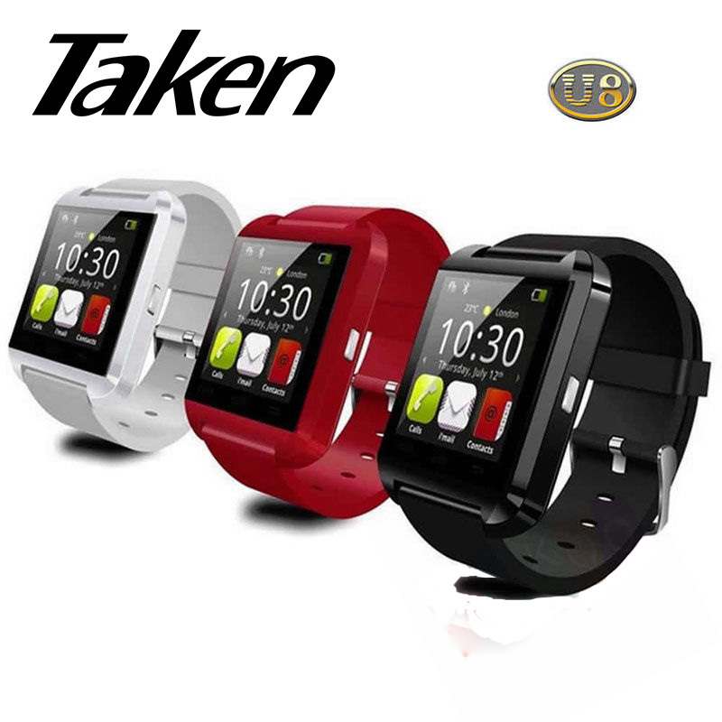 U8 Bluetooth Smart Wrist Watch Taken brand smart watch Phone Mate for Android for samsung iphone HTC nokia sony(China (Mainland))