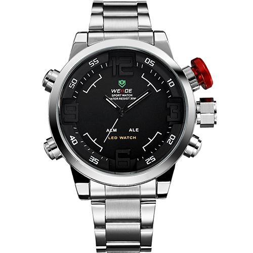Часы с двойным циферблатом из Китая