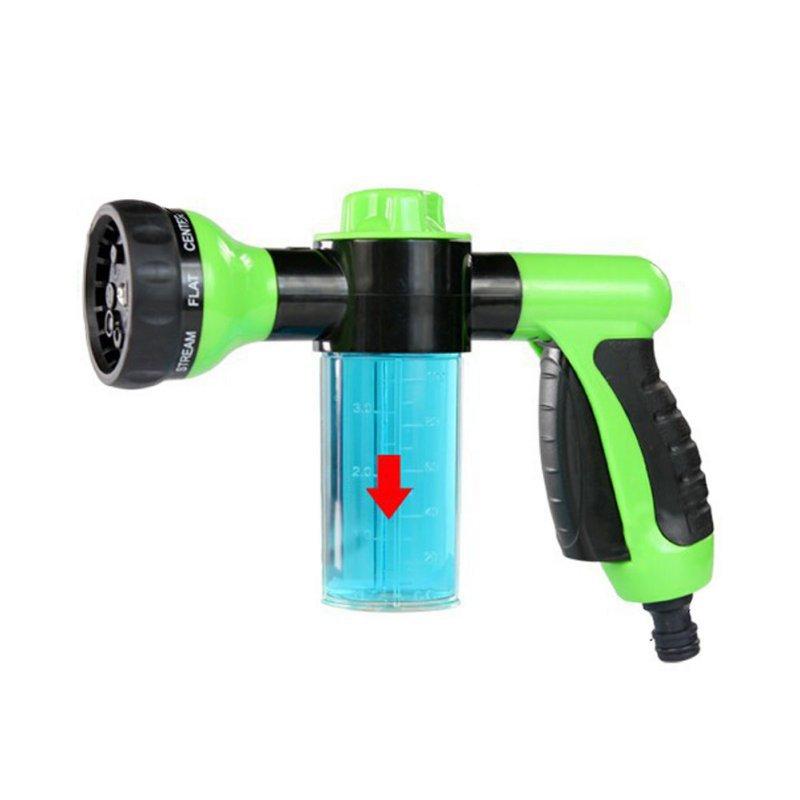 Foam Water Gun Car Washer Water Gun High Pressure Car Wash Water Gun Home Car Foam Gun()