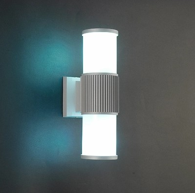 Waterproof aluminum modern simple led outdoor wall lamp for Fixture exterieur led