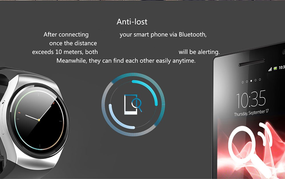 image for [Genuine] LEMFO KW18 Bluetooth Smart Watch Full Screen Support SIM TF