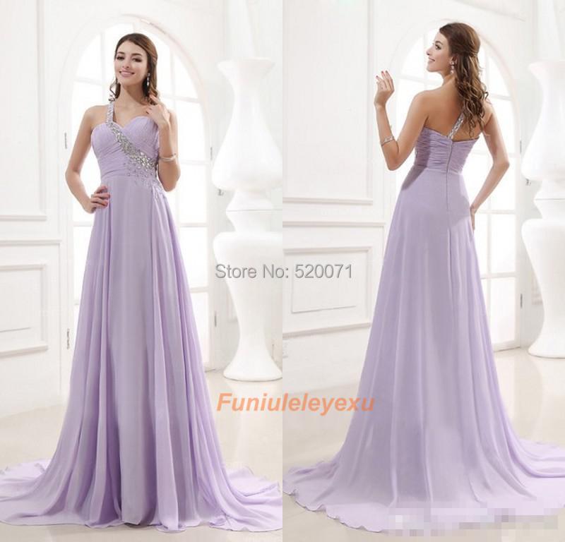 Light Purple Chiffon Dresses