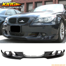 Buy 04 05 06 07 BMW E60 5-Series Front Bumper Lip AC Style Painted Jet Black #668 for $166.24 in AliExpress store