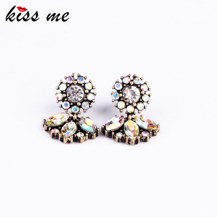 KISS ME Fashion Jewelry Women exquisite all-match vintage small stud earring Factory - Official Store store