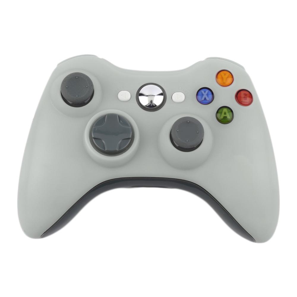 White Color 2.4G Wireless Gamepad Joypad Game Remote Controller Joysti