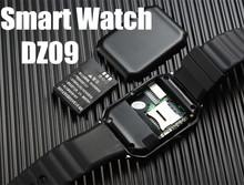 smart watch DZ09 for IOS Android phone with SIM Card camera SMI/TF men bluetooth wristwatch smartwatch phone pk gv18 u8 gt08 a9