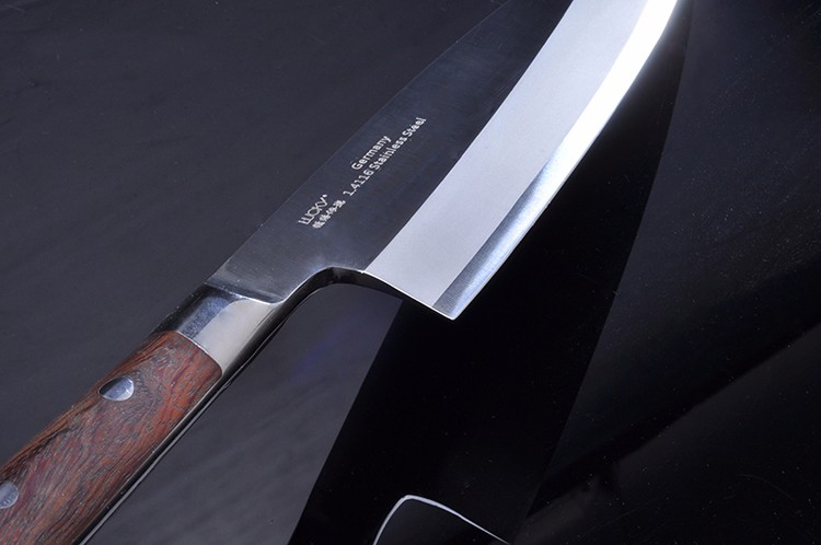 Buy Free Shipping High Quality Professional Fish Knife Japanese Style Lancet Sashimi Sushi Salmon Beef Knife Cooking Cleaver Knives cheap