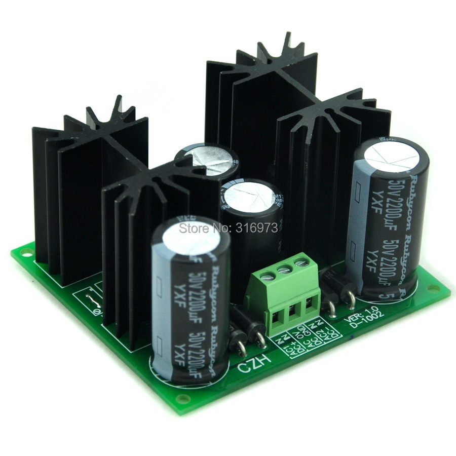 Positive and Negative +/-8V DC Voltage Regulator Module Board, High Quality.<br><br>Aliexpress