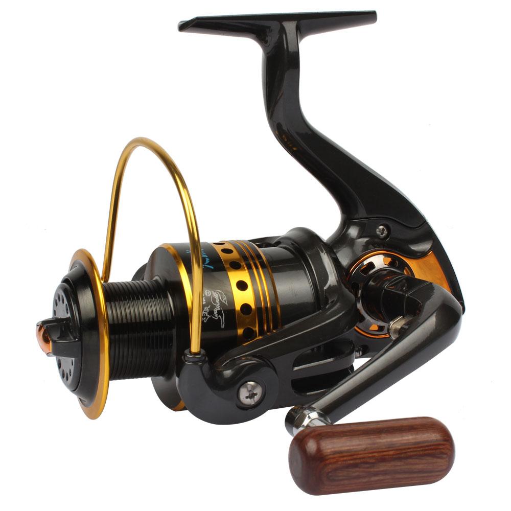 Goture metal fishing reel 3000 4000 series spinning reel 5 for Carp fishing reels