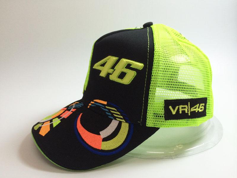 2015 summer outdoor sport camping for KAWASAKI VR 46 Rossi F1 NASCAR motor Racers moto gp team mesh trucker baseball cap hats(China (Mainland))