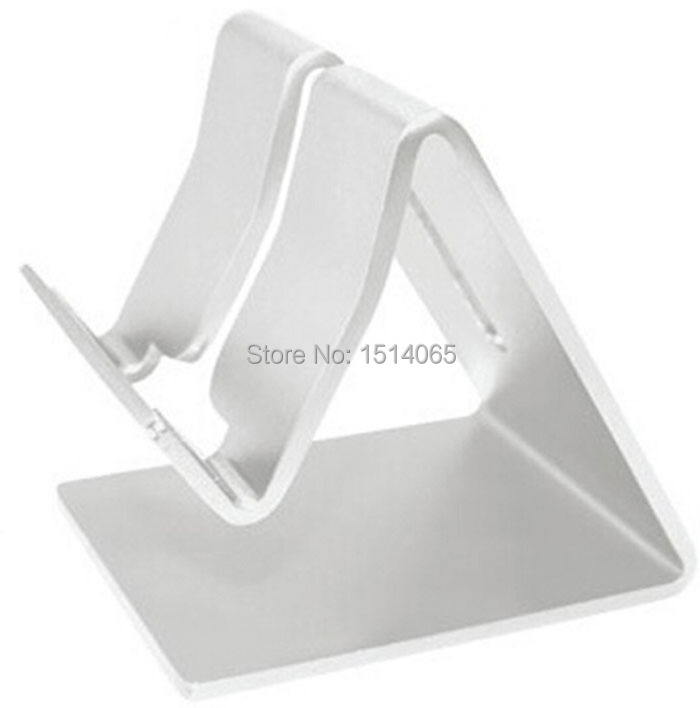 Universal Aluminum Metal Tablet Stand Phone Holder Tripod for Ipad Air Mini 2 3 4 Notebook Pc Holder Plate(China (Mainland))