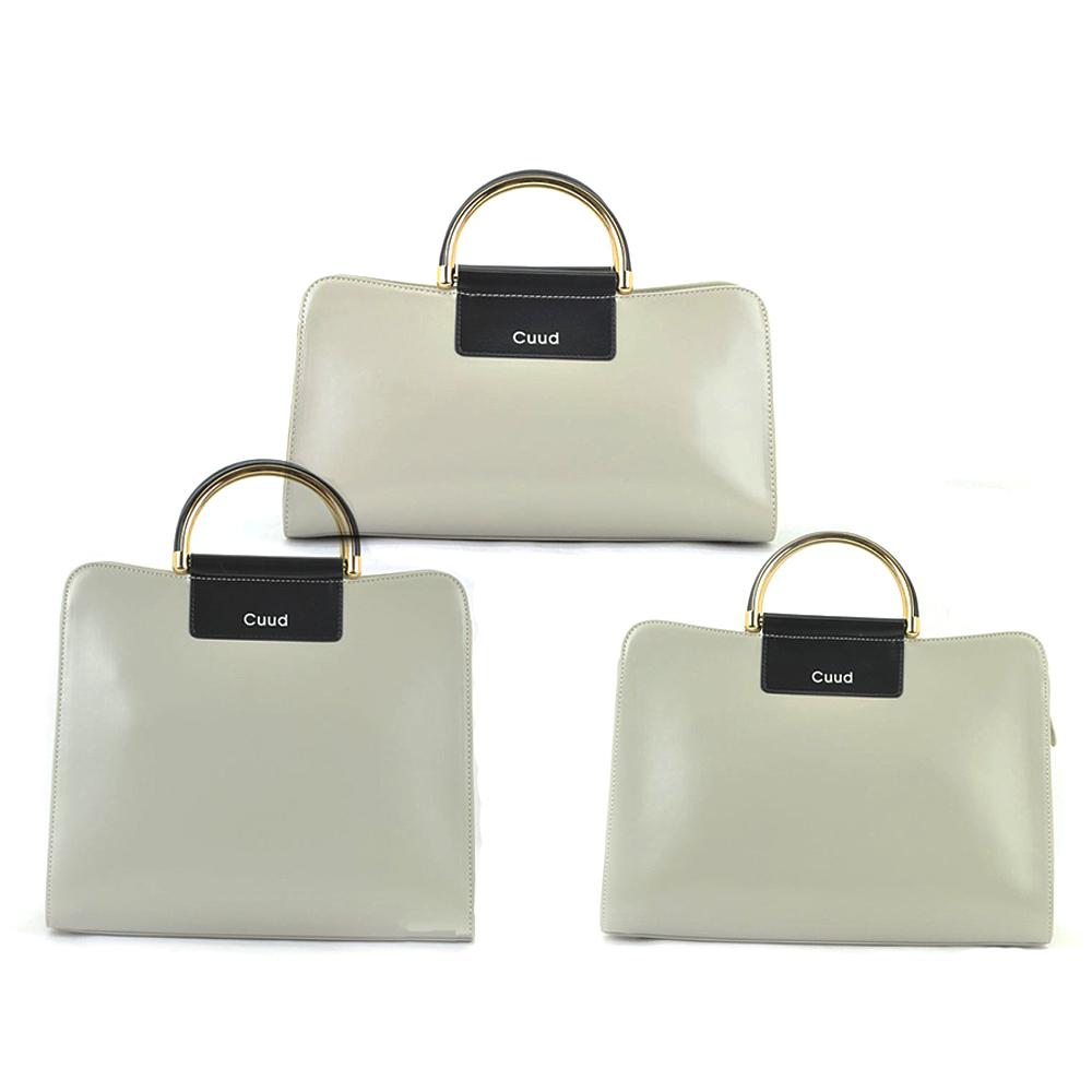 Women Beige Genuine Cowhide Leather Handbag Satchel Shoulder Bag Crossbody Bag <br><br>Aliexpress