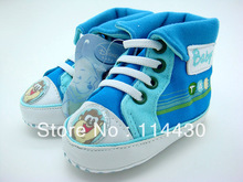 Ecmall--DI016# 2013 NWT Sky Blue Unisex Baby Shoes & Boy Baby Shoes First Worker Shoes Sneakers Sport Shoes Free Shipping(China (Mainland))