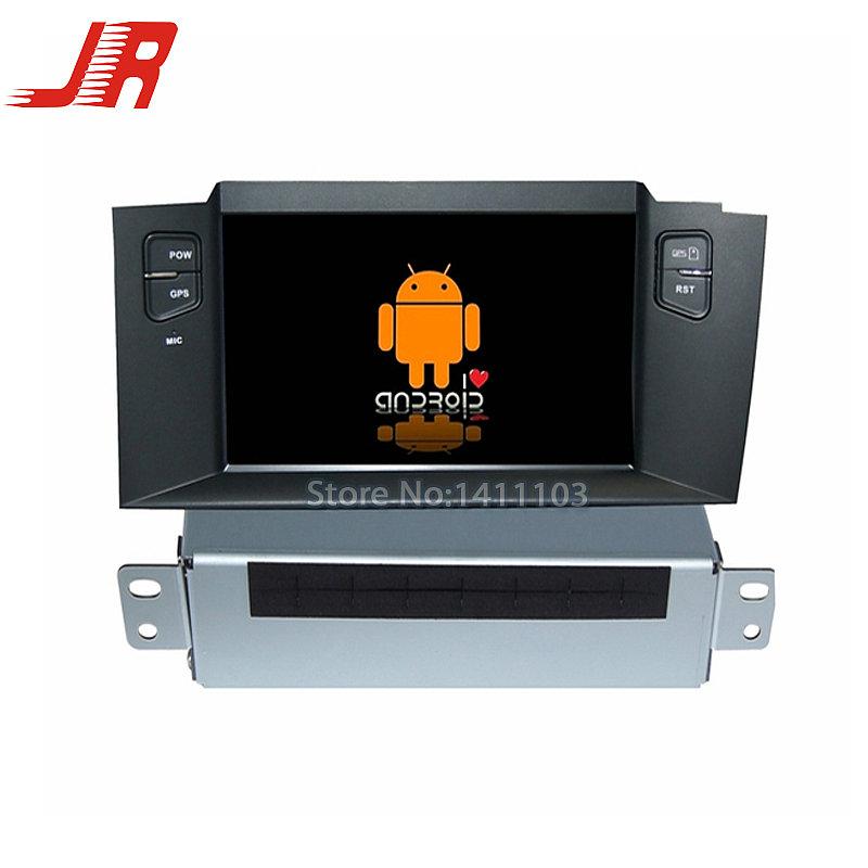FOR CITROEN C4L car audio Quad Core Android 4.4 Car DVD GPS player Cortex A9 1.6GHz ar multimedia stereo  -  ZHUHAI JIERUI INDUSTRIAL CO.,LTD store