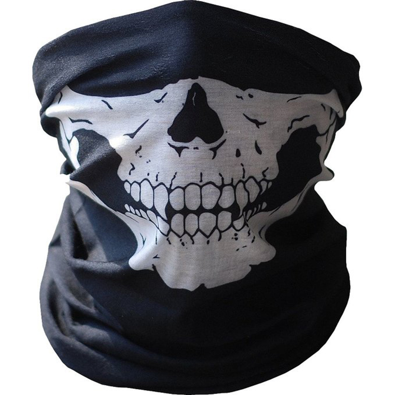 Motorcycle Skull Ghost Face Windproof Mask Outdoor Sports Warm Ski Caps Bicycle Bike Balaclavas Masks Scarf Halloween Masks(China (Mainland))