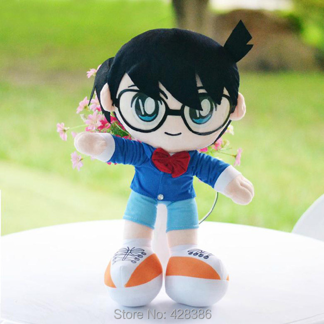 11.8 Inches Detective Conan Soft Stuffed Plush Doll Case Closed Toy Classic Baby Toys Children Kids Gift - Truman Hua's store