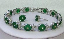 Atacado conjuntos de jóias para mulheres anime casamento vermelho gem link jóias pulseira brincos conjunto banhado a nupcial relógio largo(China)