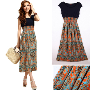 Summer Designer Women's Clothes Hot Summer Bohemia Long