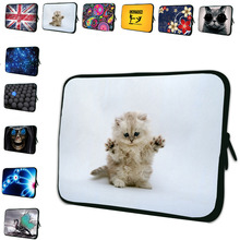 Neoprene Soft Zipper Mini 7 inch 7.7 7.9 8 Tablet Sleeve Bag Portable Cases Cover For Google Android Tab 7 Kindle Fire 7 Tab PC(China (Mainland))