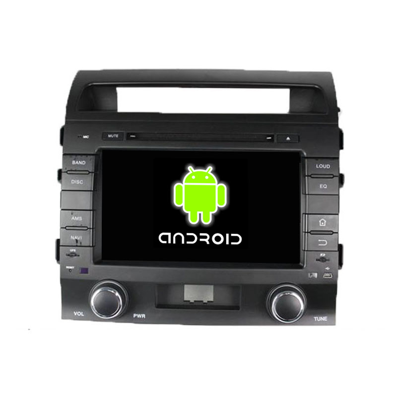 ROM 16G Quad Core 1024*600 Android 5.1.1 Fit Toyota LAND CRUISER 2008 2009 2010 Car DVD Player Navigation GPS 3G Radio WIFI(China (Mainland))
