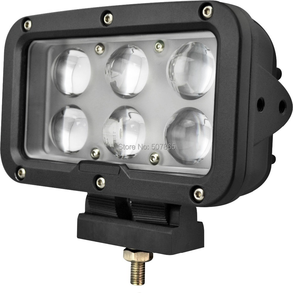 Led Lights For Tractor Trailers : Led work light quot inch w v spot lamp for motorcycle