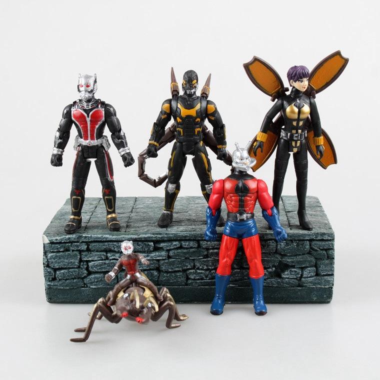 Гаджет  Ant Man 5 pcs/set 12 cm Pvc Action figure collection model toy None Игрушки и Хобби