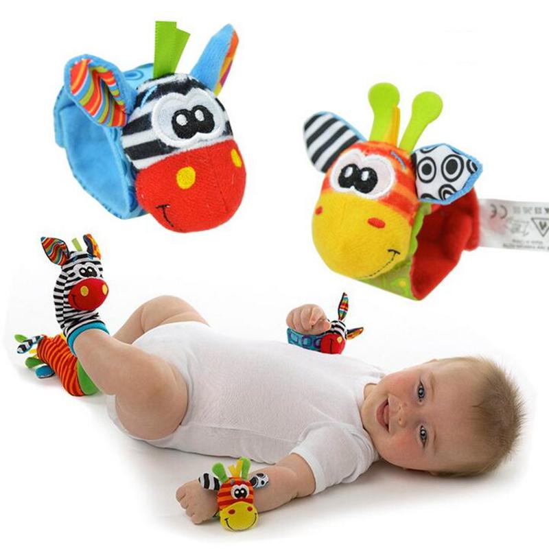 Baby Rattle Toys 2016 New Garden Computer virus Wrist Rattle ...