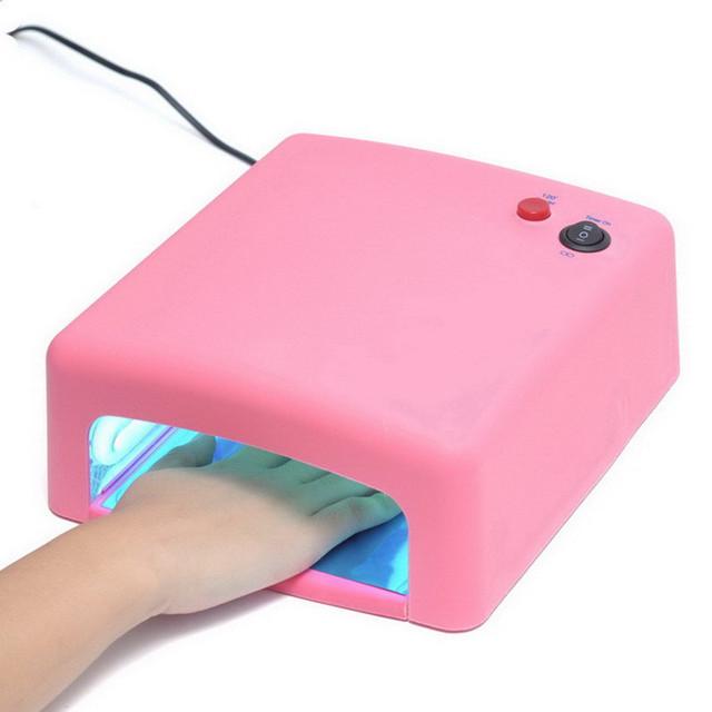 Professional Gel nail dryer Curing Light Nail Art tools Nail Art Dryer UV Lamp 36W 4X 9W Light Tube equipment tools GI2254