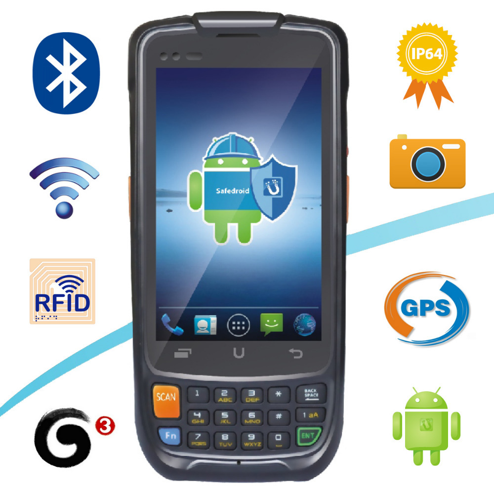 2015 Top selling i6200s State Grid Android PDA Handheld Terminal GPRS WIFI GPS Quad Core 2D Barcode Scanner(China (Mainland))