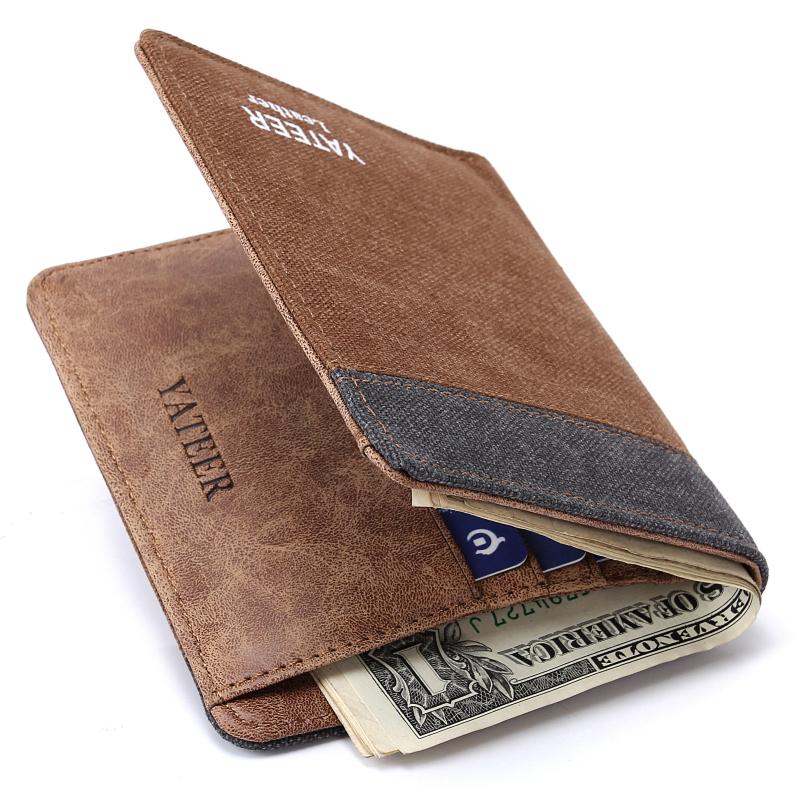 Wallet Purses Men Wallets Carteira Masculine Billeteras Porte Monnaie Monedero Famous Brand Male Men s Walet