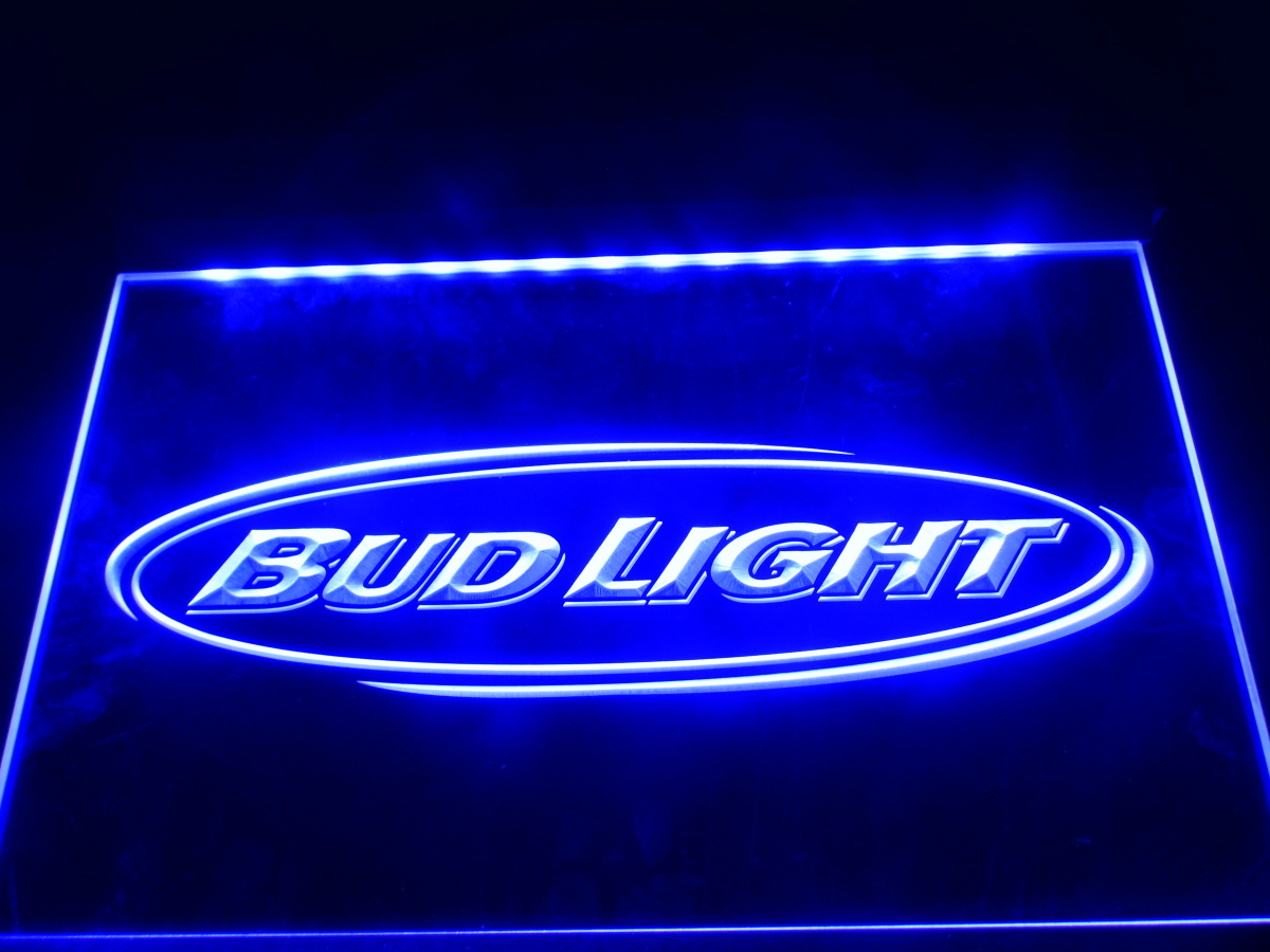 La001 Bud Light Beer Bar Pub Club Nr Led Neon Light Sign Home Decor Crafts In Plaques Signs