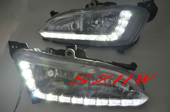 super bright led daytime running lights drl led fog lamp for 2013 all. Black Bedroom Furniture Sets. Home Design Ideas
