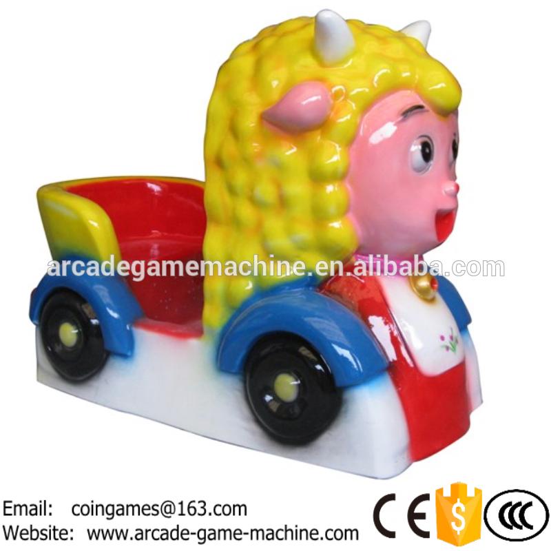 2016 New Style Amusement Arcade Coin Operated Game Machine MP3 Music Lamb Sheep Animal Kiddie ride for mall(China (Mainland))