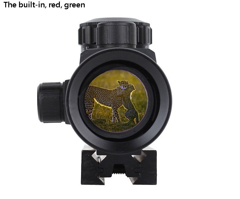 The new red and green dot sight is adjustable up and down to find the bird optical sight sniper sights<br><br>Aliexpress