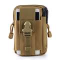 Outdoor Sport Camping Hiking Tactial Military Molle Hip Pouch Running Waist Belt Bag for iPhone 7