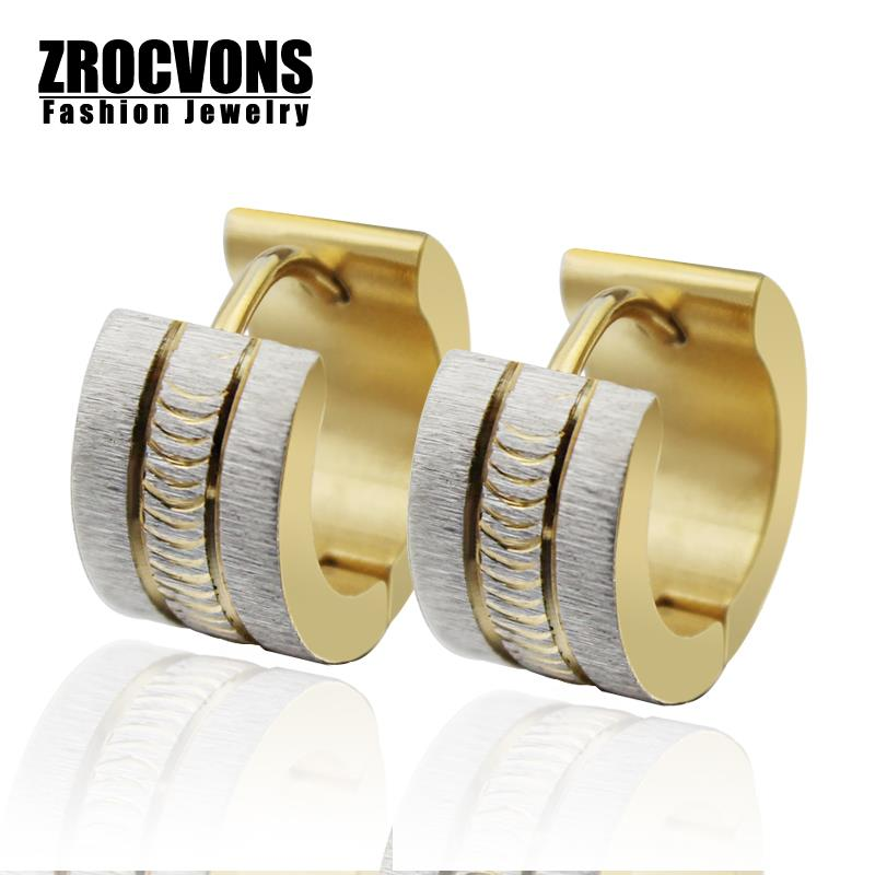 Fashion Stainless Steel Luxury Earring for Women the Big Brand Trendy High Quality Major Suit Stud Earrings(China (Mainland))