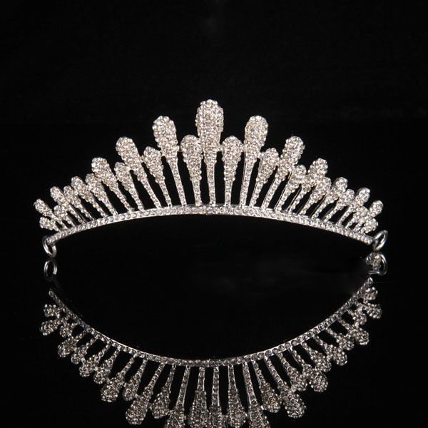 2014 wedding hair jewelry bridal crystal tiara Vintage Pageant Crown accessories XB56 - Kay's Wedding store