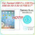 9H 0 3mm 2 5D Tempered Glass Screen Protector Film For Teclast P98 3G Octa Core