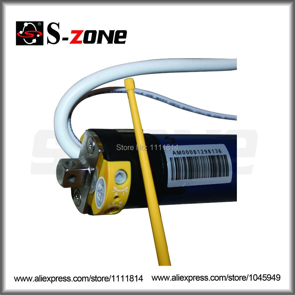 dia 35mm externe ontvanger elektrische rolluiken motor buismotor voor rolgordijnen met ontvanger