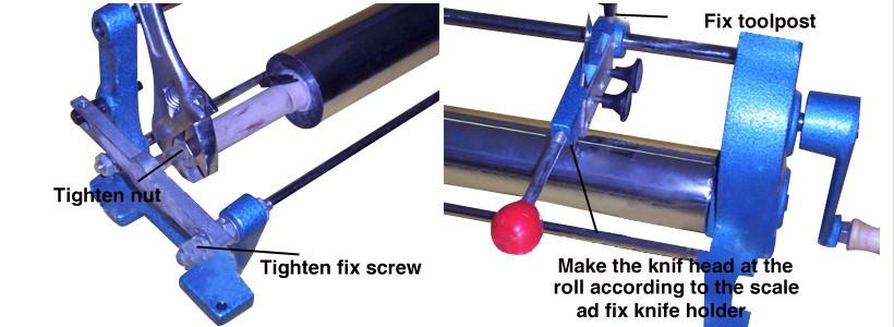 """Buy 26"""" Foil Paper Cutter Slitter Hot Foil Stamping Roll Cutting Machine Core 0.9"""" Manual Cutting Machine cheap"""