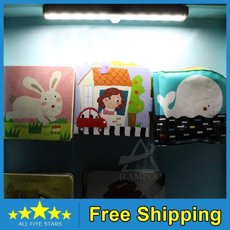 10 LED IR Infrared Motion Detector Wireless Sensor Closet Cabinet Light Lamp - Shenzhen LSD Technology Go.,Ltd. store