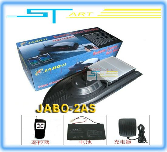 2013 Newest ST Model JABO-2AS Remote Control Fishing Boat Bait Boat -Upgraded edition of JABO-2A jabo 2as 2a rc boat RT Toy kids