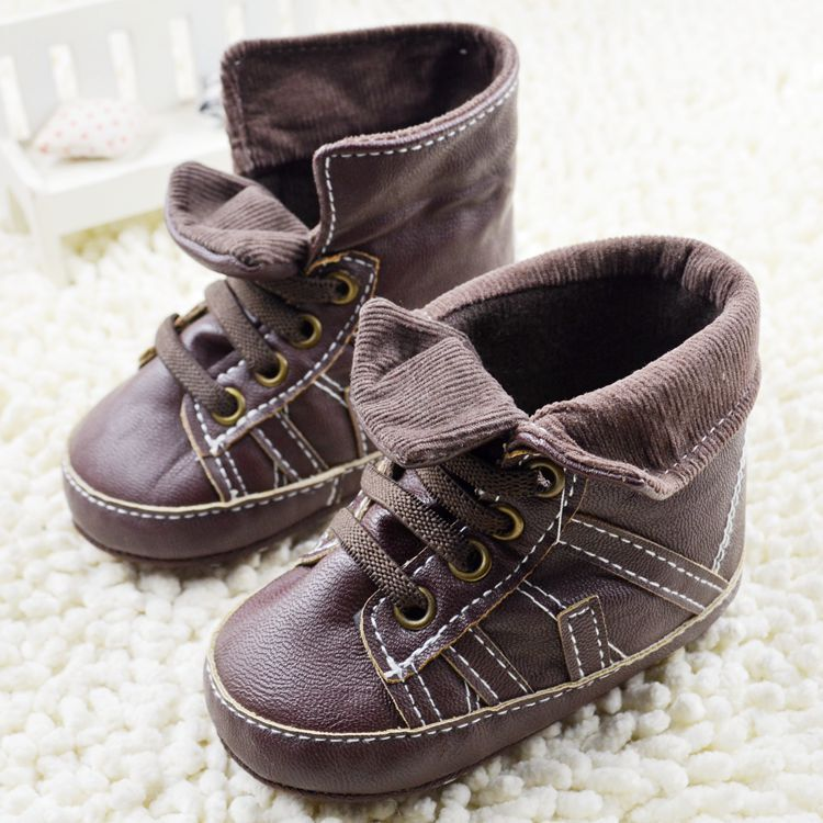 Autumn 2015 Baby toddler First Walkers soft sole prewalker Shoes ,Newborn boys antislip bebe sapatos age 0-18 month(China (Mainland))