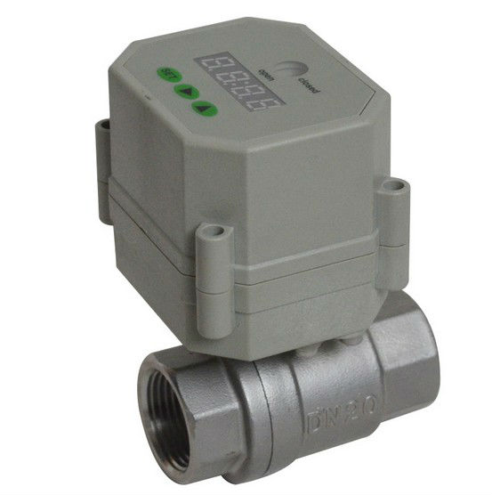 Time Electric Valve AC110V-230 3/4'' BSP/NPT for garden irrigation Drain water air pump water automatic control systems(China (Mainland))