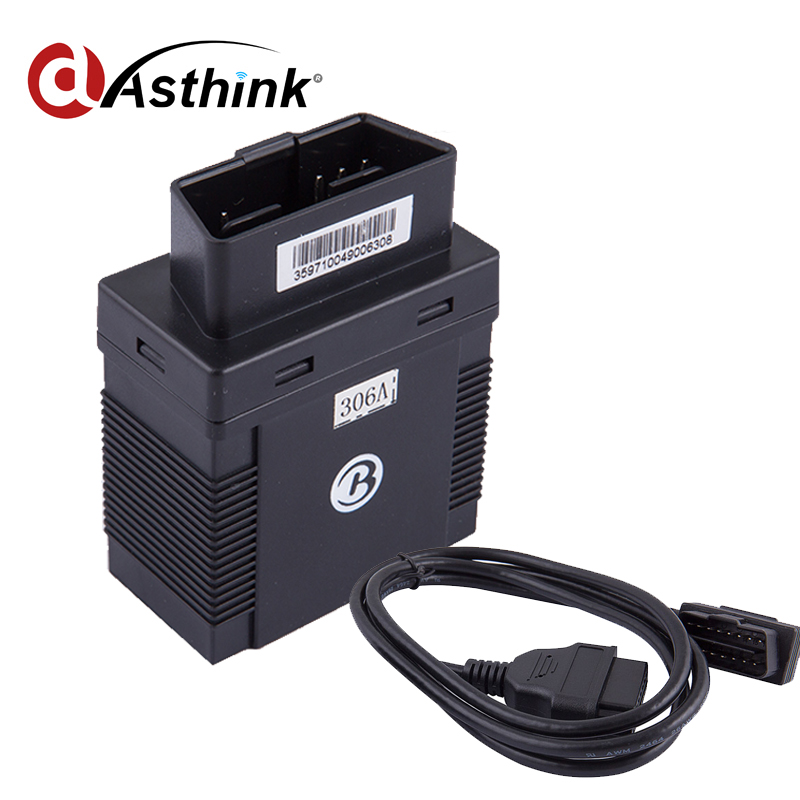 OBD small gps tracking device with 1 year free web based gps server tracking software(China (Mainland))
